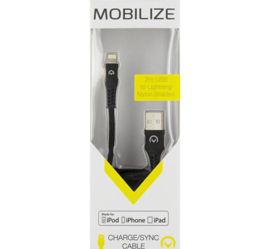 Nylon Braided Charge/Sync Cable Apple Lightning