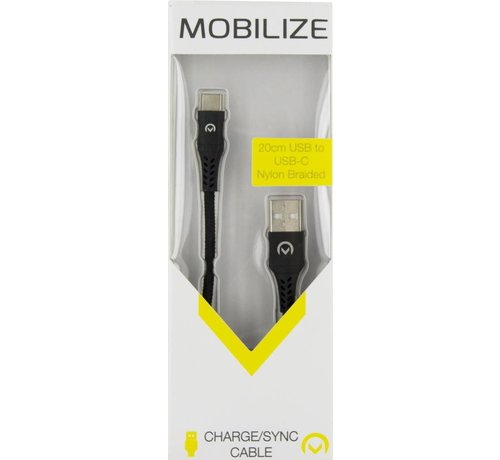 Mobilize Mobilize Nylon Braided Charge/Sync Cable USB-C