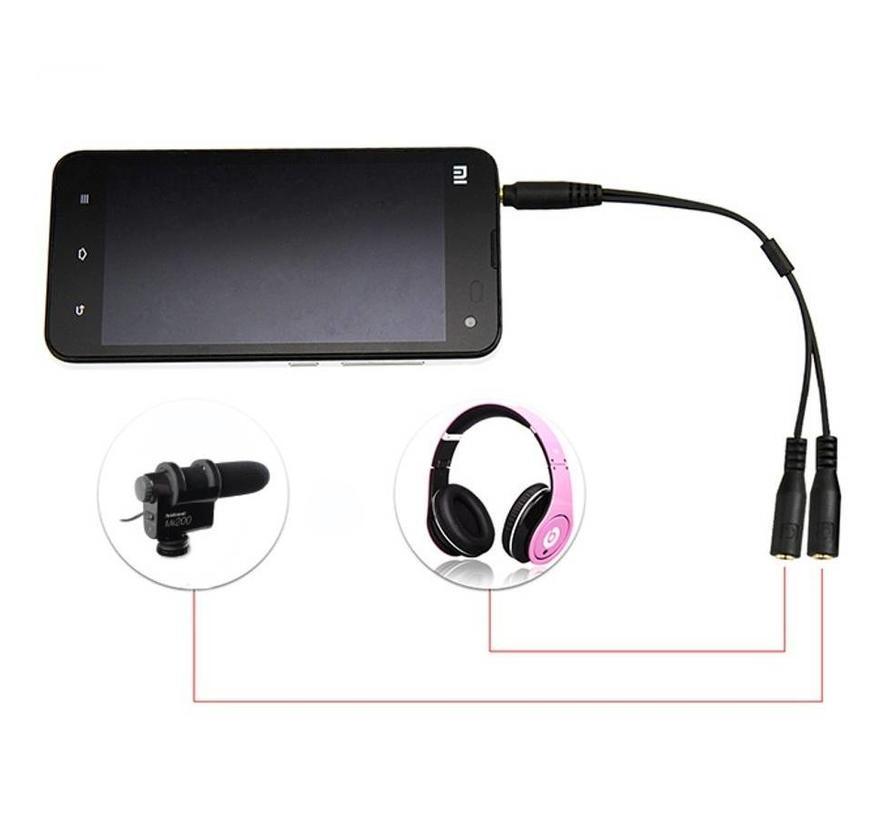 Hähnel TRRS Microfoon adapter voor smartphone