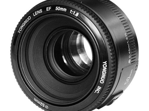 50mm objectief f/1.8 Canon