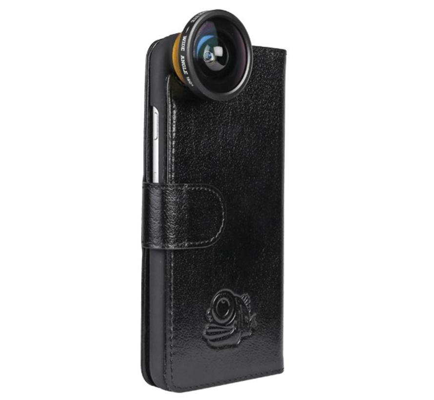 Flip cover + screenprotector iPhone 6 / 6s bundel