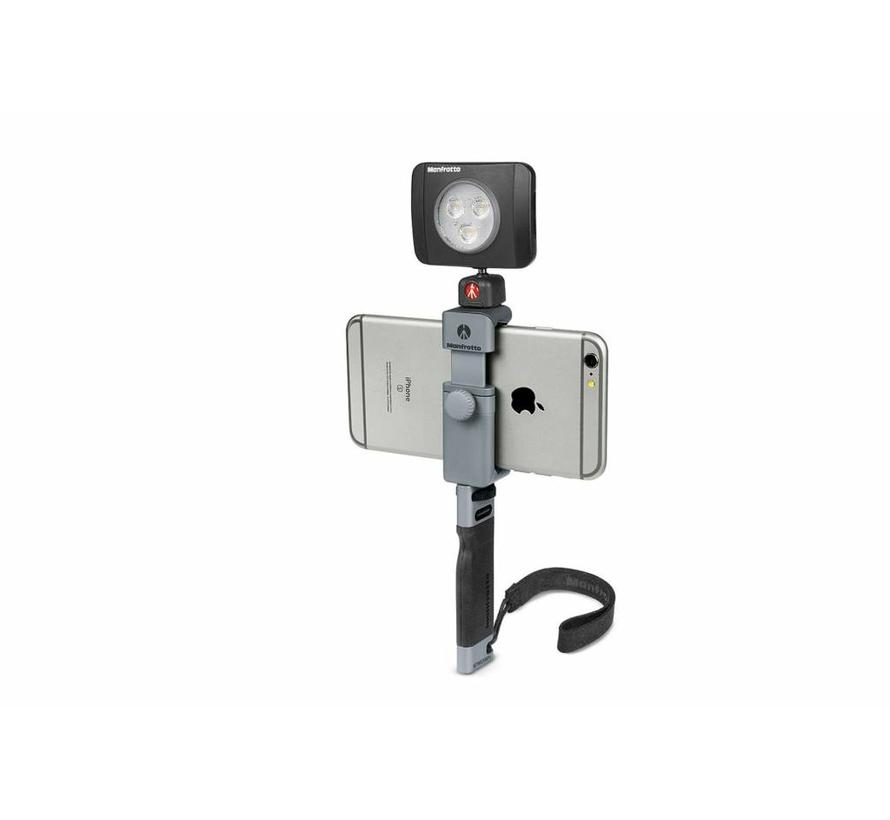 Manfrotto handle for smartphone