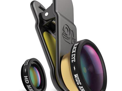Black Eye lens Clipper HD Combo
