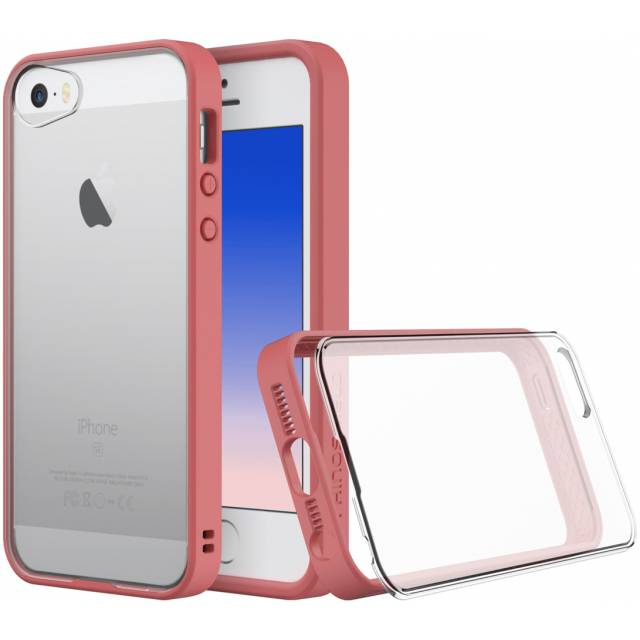 Rhinoshield Crash Guard MOD Case iPhone 5/5S/SE - Coral Pink