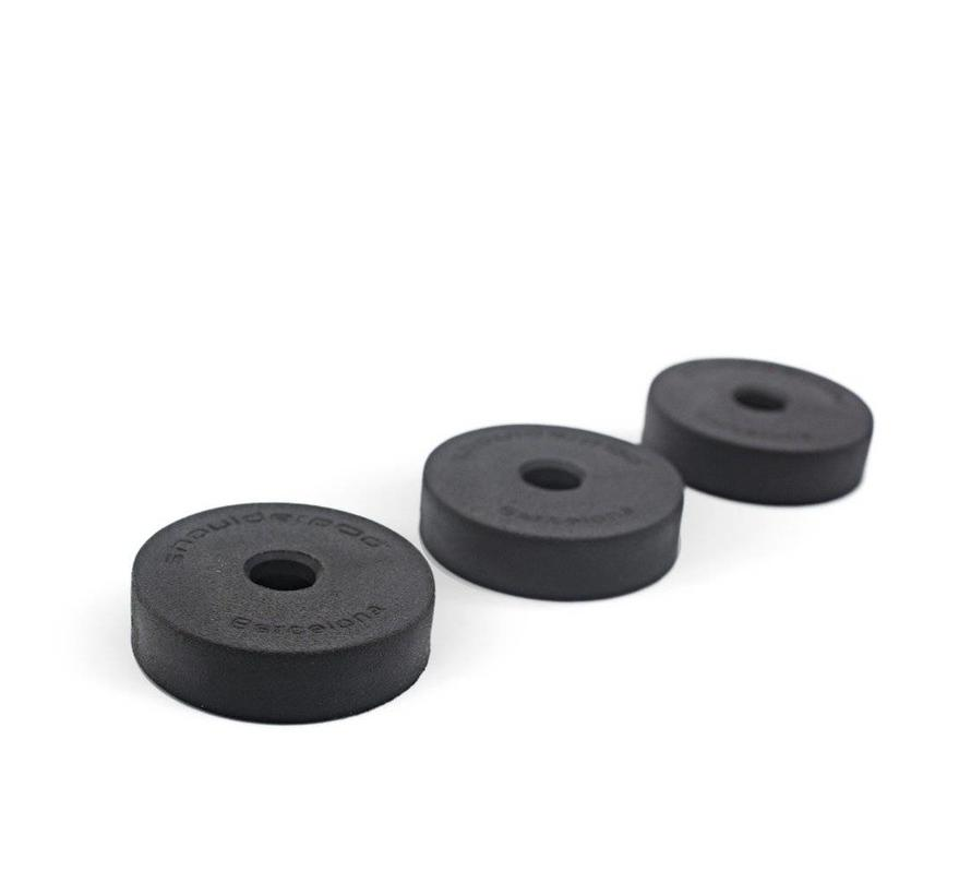 Shoulderpod Rubber Pad Replacements for H1, K1, etc - 3 Units
