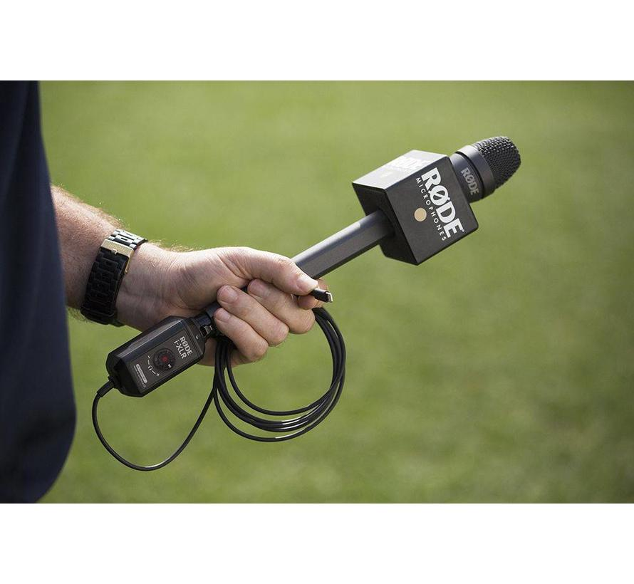 Røde reporter inteview microphone for smartphones