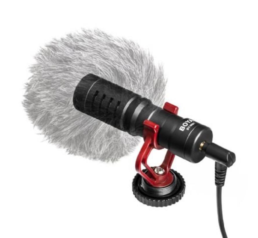 Boya Universele Compacte Shotgun Richtmicrofoon BY-MM1