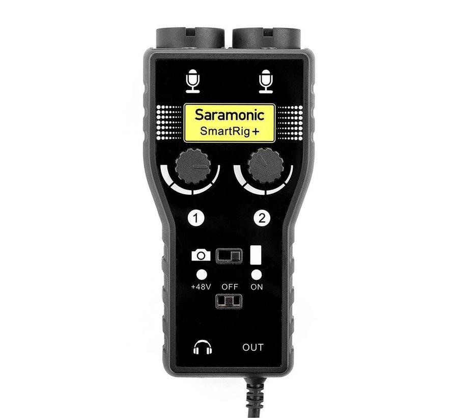 Saramonic SmartRig+ voor DSLR en Smartphone