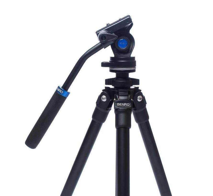 Benro TSL08AS2CSH video tripod - Aluminium