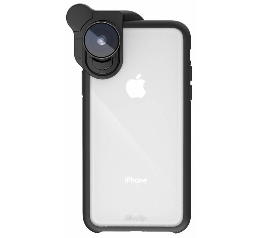 olloclip ollo Case for iPhone X: Clear/Black