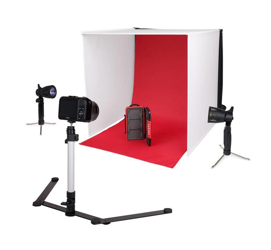Caruba Portable fotostudio (halogen)