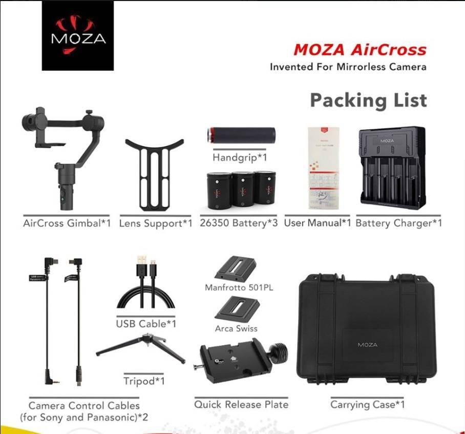 MOZA MOZA Gimbal AirCross