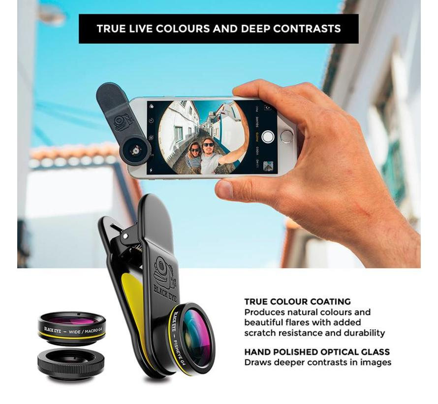 Black eye 3-pack  smartphone lens - Gen4