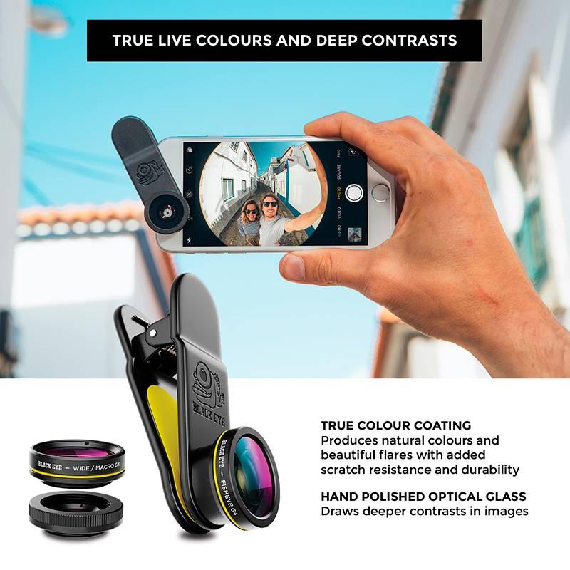 Black Eye lens Black eye 3-pack smartphone lens - Gen4