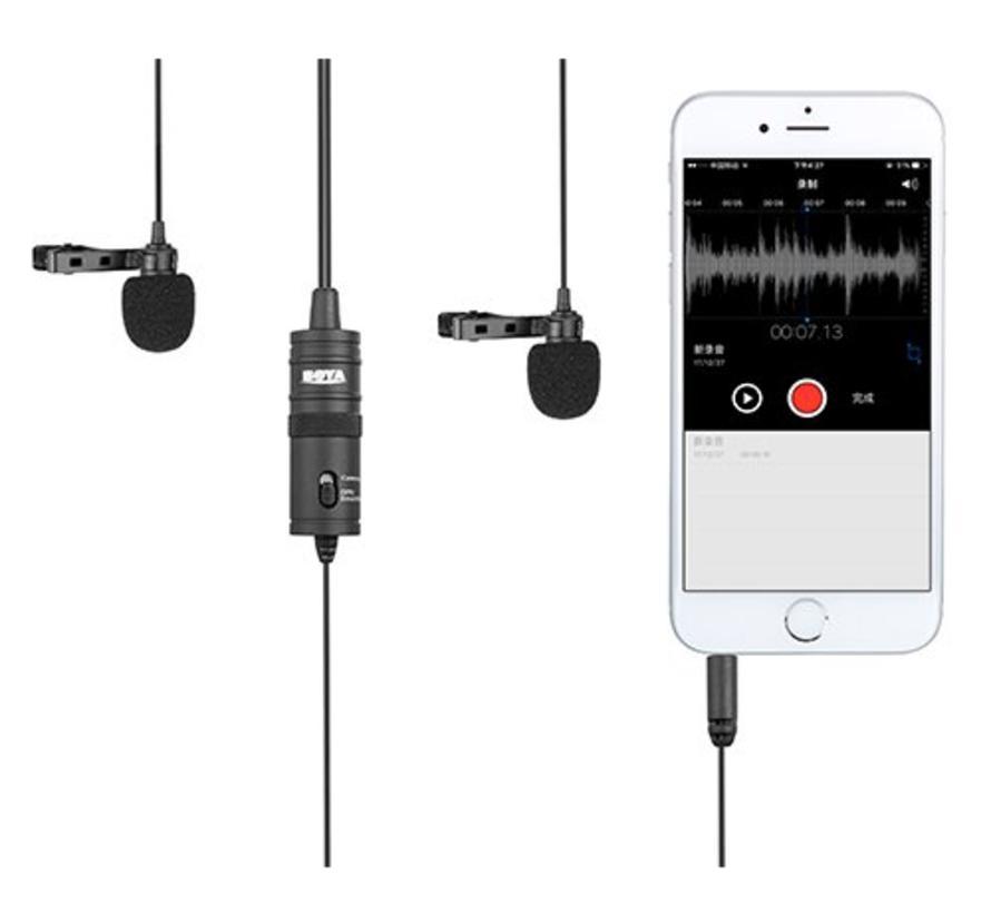Boya Duo Lavalier Microfoon BY-M1DM