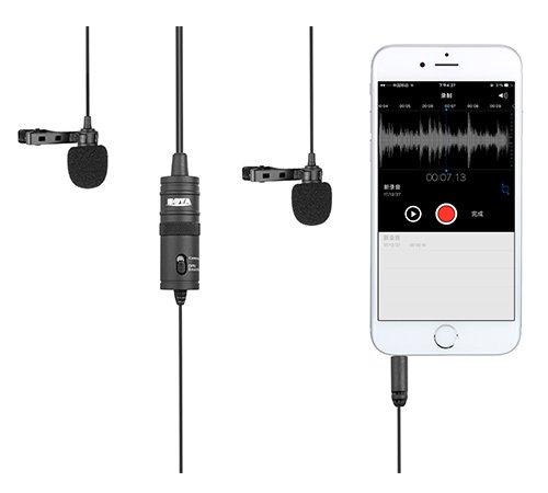 Boya Boya Duo Lavalier Microfoon BY-M1DM