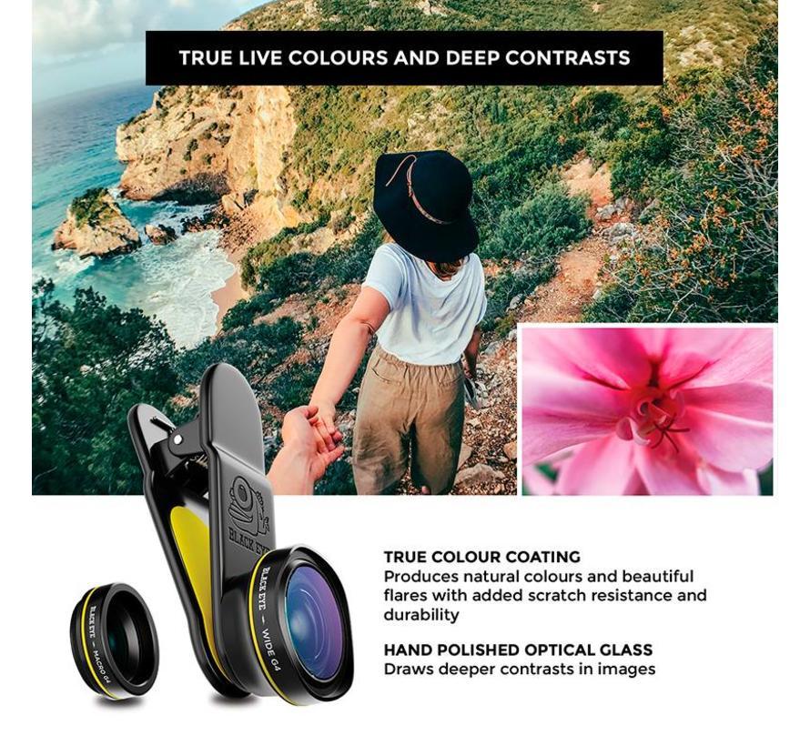 Blackeye Combo (macro & groothoek lens) - Generatie 4