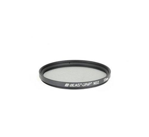 Beastgrip  Beastgrip ND2 grijsfilter 58mm