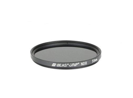 Beastgrip Beastgrip ND8 grijsfilter 58mm