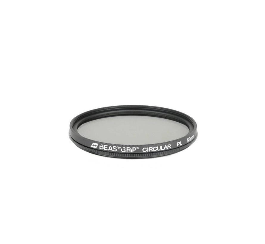 Beastgrip Circular Polarizer filter 58mm