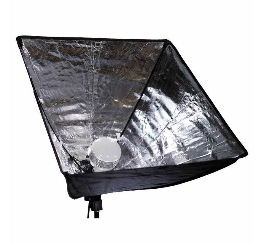 CARUBA ALL-IN-1 LICHTSET (SOFTBOX / LED)
