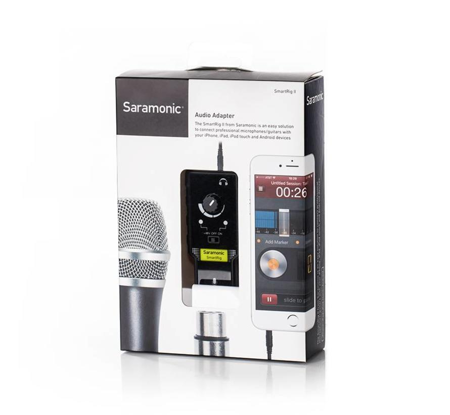 Saramonic SmartRig II voor iOS and Android