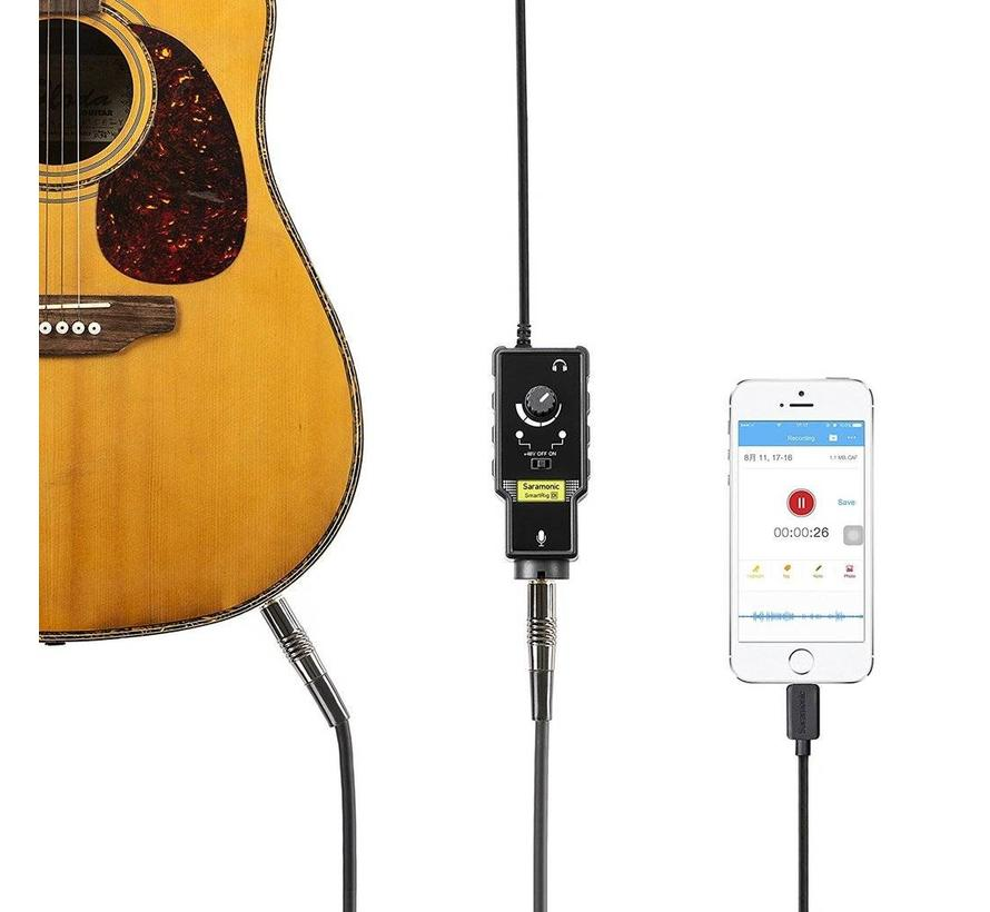 Saramonic SmartRig -DI voor iOS