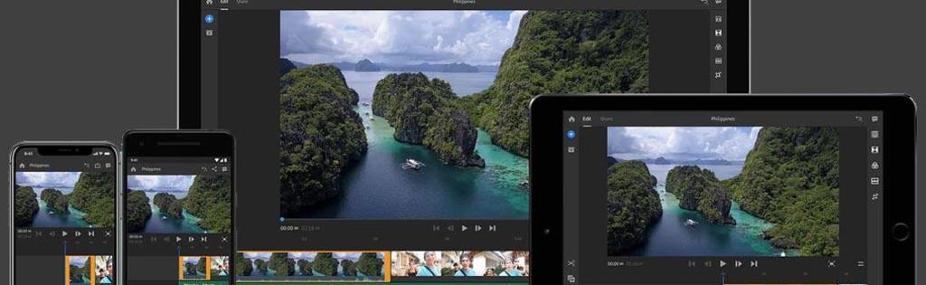 Kies voor Adobe Premiere Rush als videobewerkingsapp
