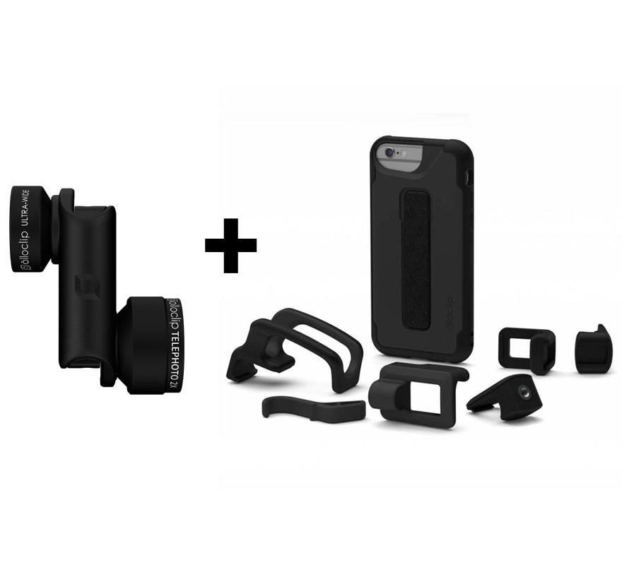 olloclip Active lens for iPhone 6/6s + olloclip studio for iPhone 6/6s