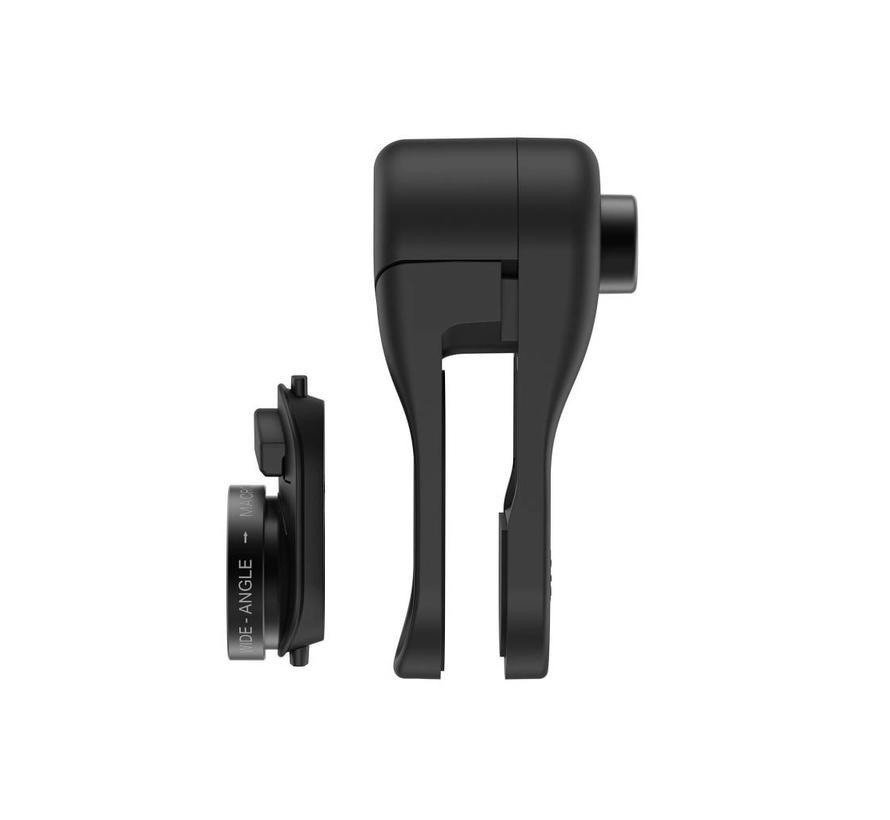 olloclip Multi-Device Clip with Wide-Angle + Macro Intro Lenses