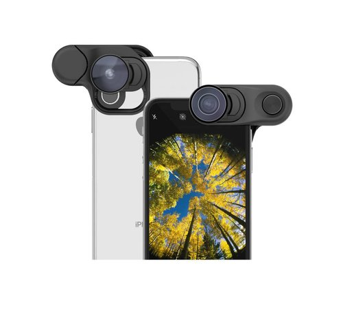 olloclip olloclip iPhone XS Clip + Fisheye + Super Wide + Macro lens set