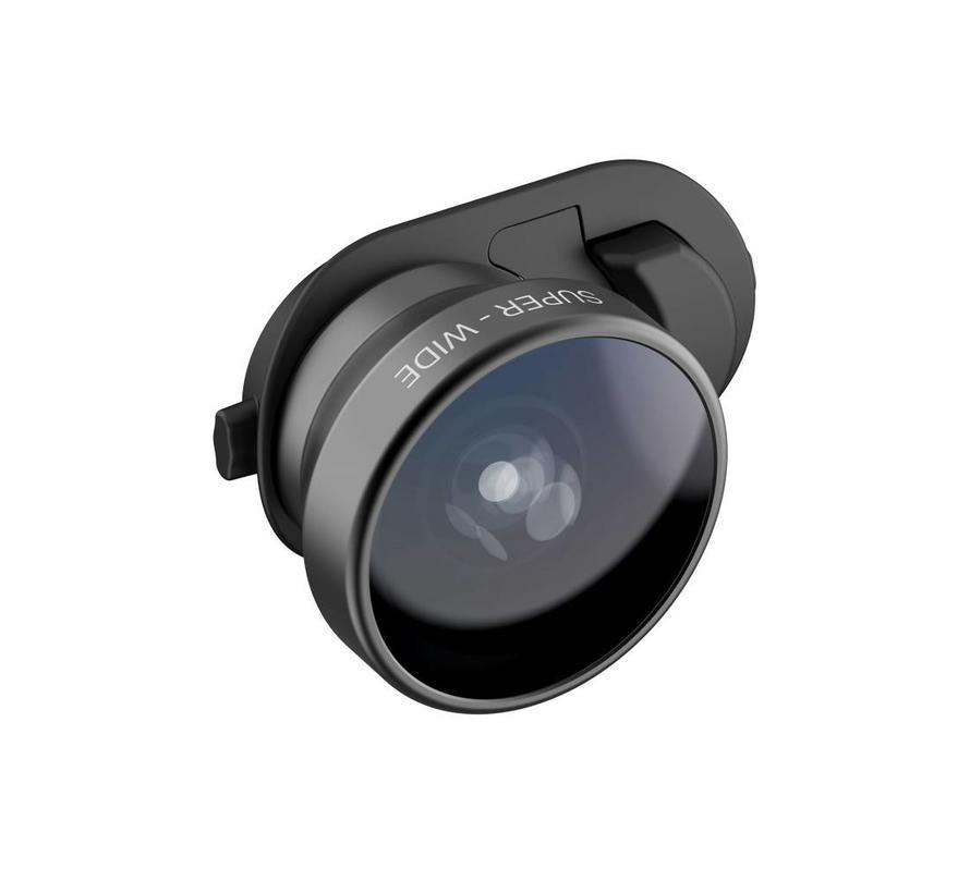 olloclip iPhone XS Clip + Fisheye + Super Wide + Macro lens set