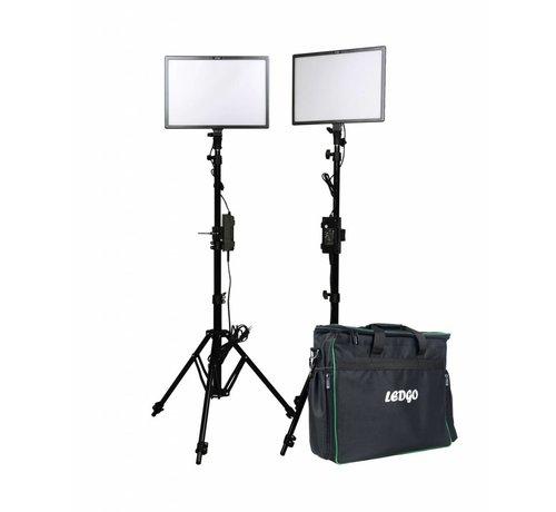 ledgo Ledgo E268CII Bi-color kit w/ light stands