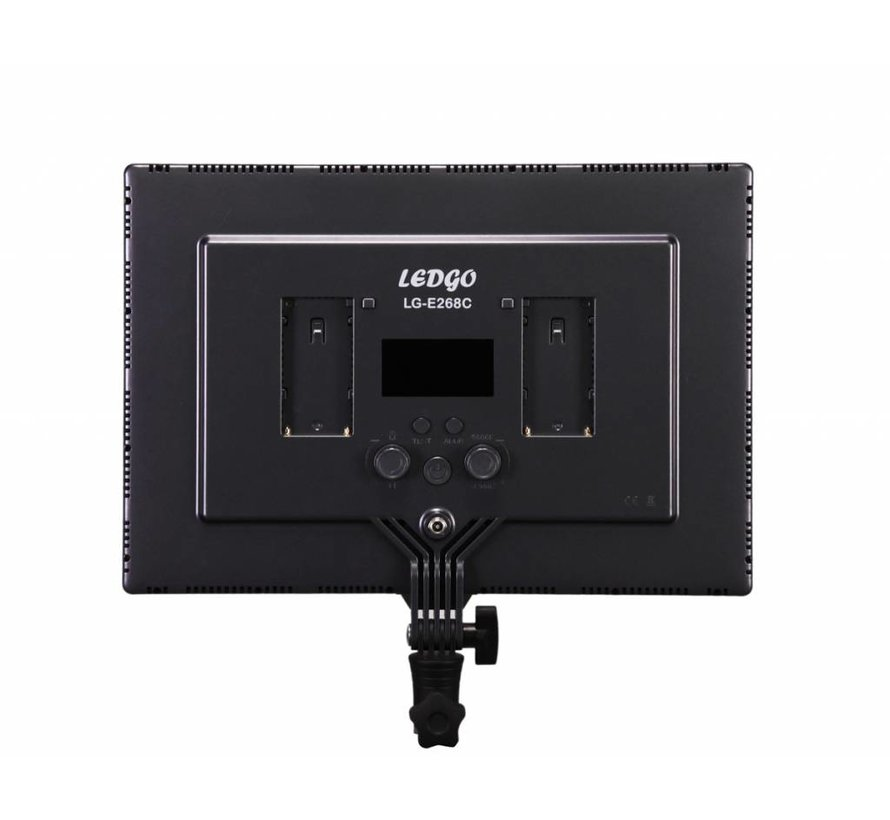Ledgo E268CII Bi-color kit w/ light stands