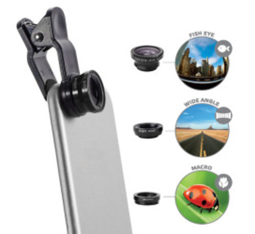 Celly Celly 3-in-1 Lens Kit