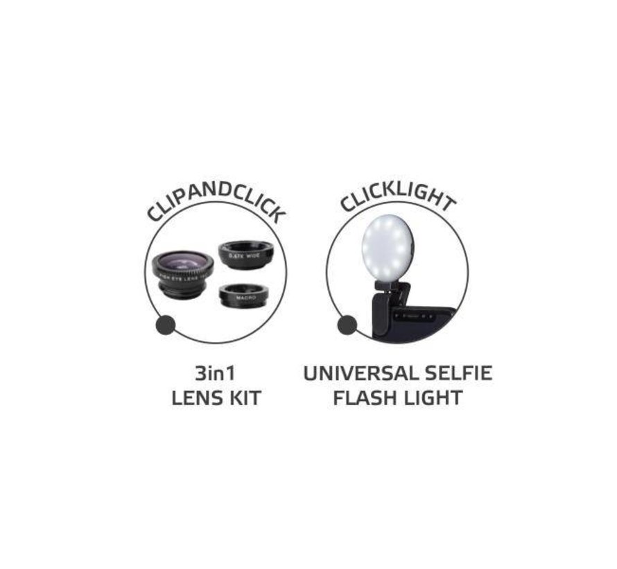 Celly FLASHLIGHT LENS KIT
