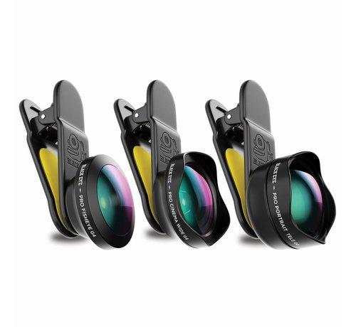 Black Eye lens Black eye lens Pro kit G4 lenzen voor je smartphone