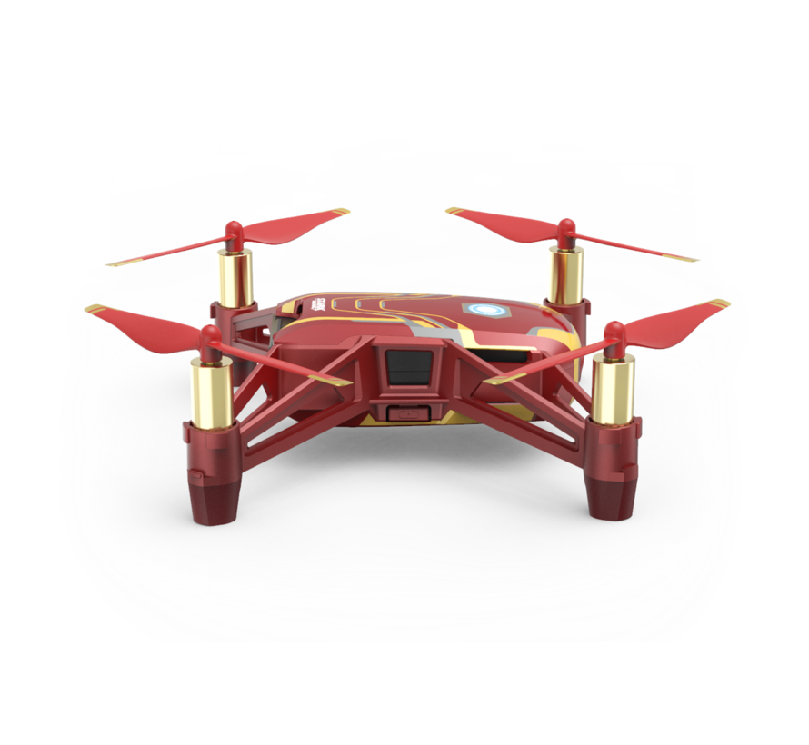 DJI Ryze Tello mini-drone Iron man