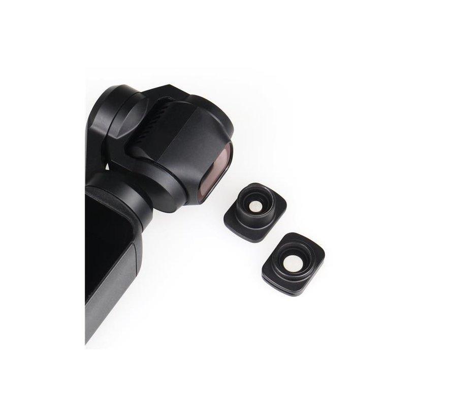 Ztylus Wide-Angle en Fisheye Lens Kit voor DJI Osmo Pocket