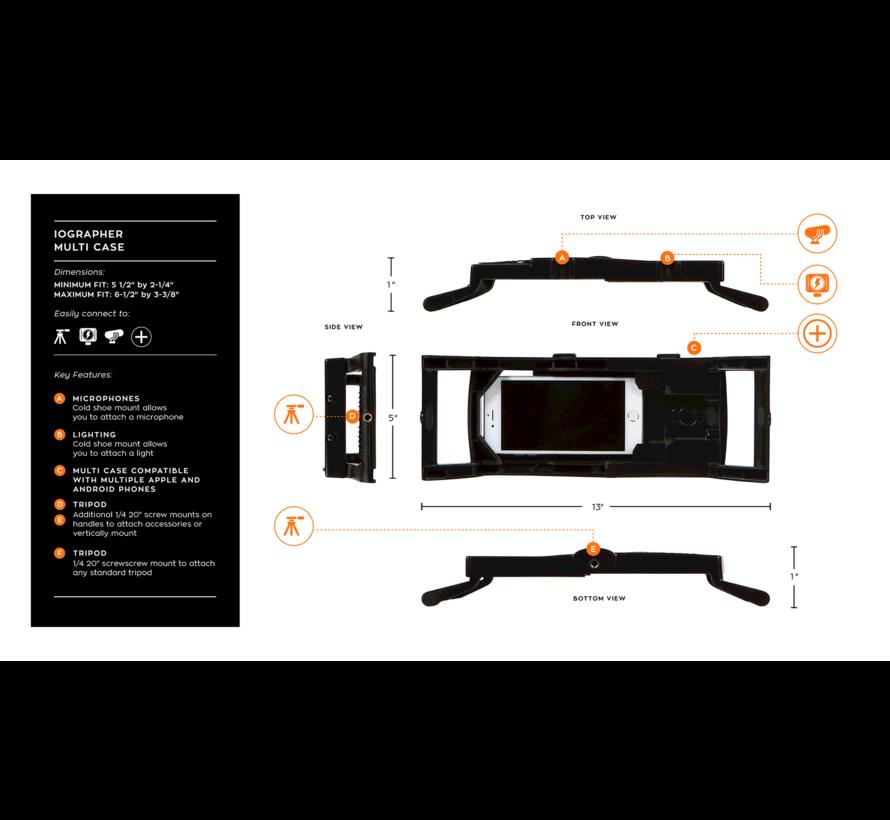iOgrapher multi case for smartphones