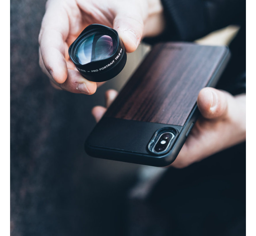 Black Eye Photo Case voor iPhone X