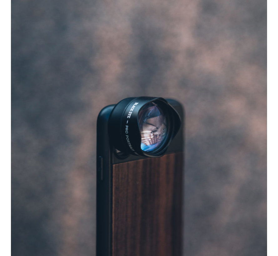 Black Eye Photo Case for iPhone XR