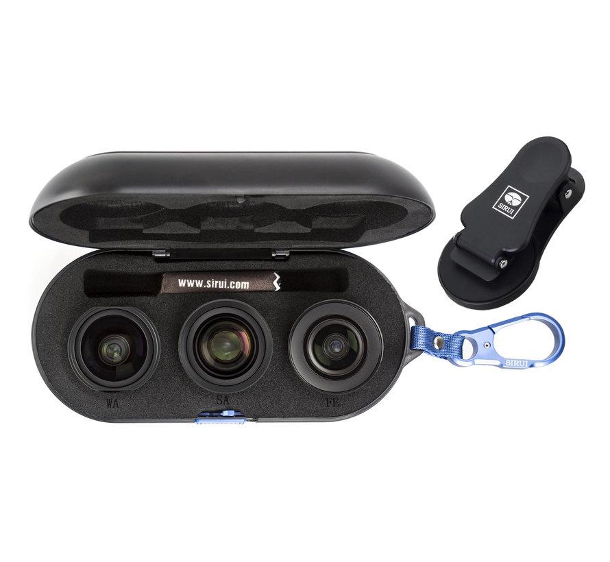 Sirui 3 lens case - zonder lenzen