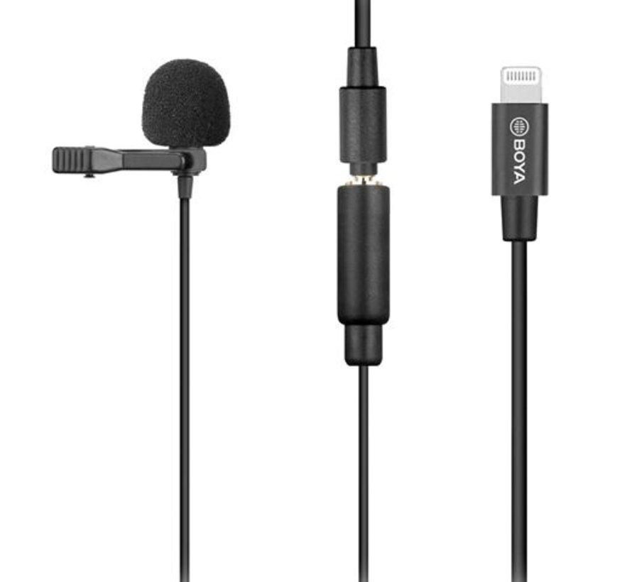 Boya BY-M2 dasspeldmicrofoon voor Apple