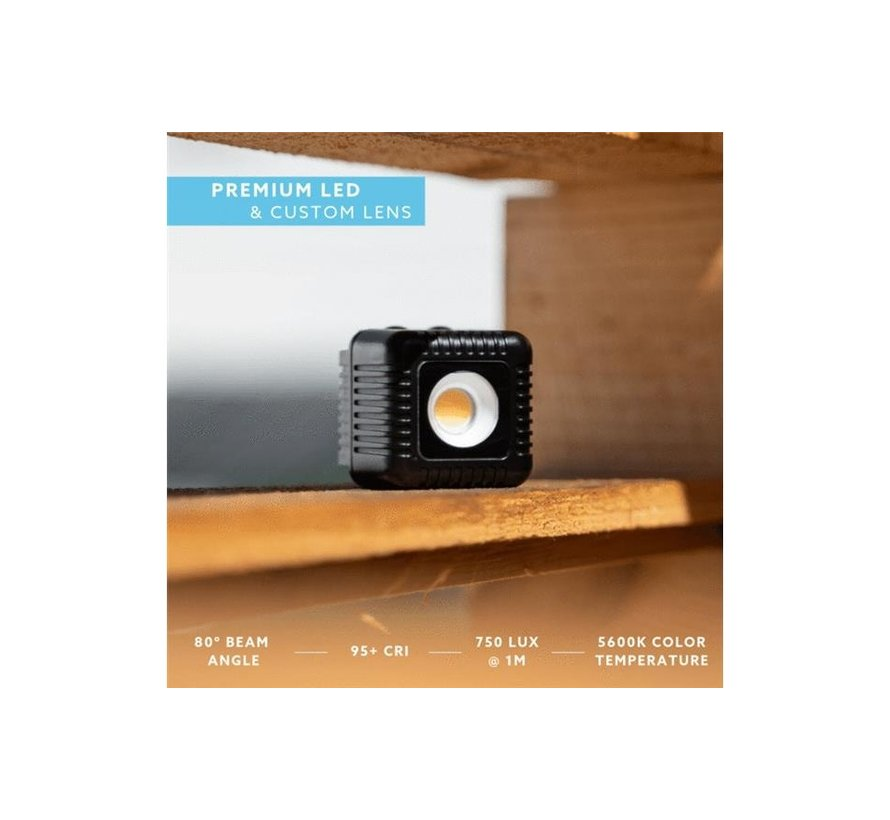 Lume Cube Portable Lighting Kit met Lume Cube 2
