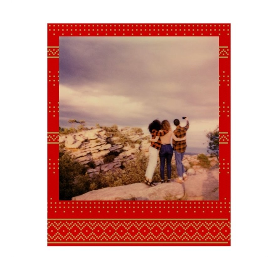Polaroid Color instant film for 600 - Festive red edition
