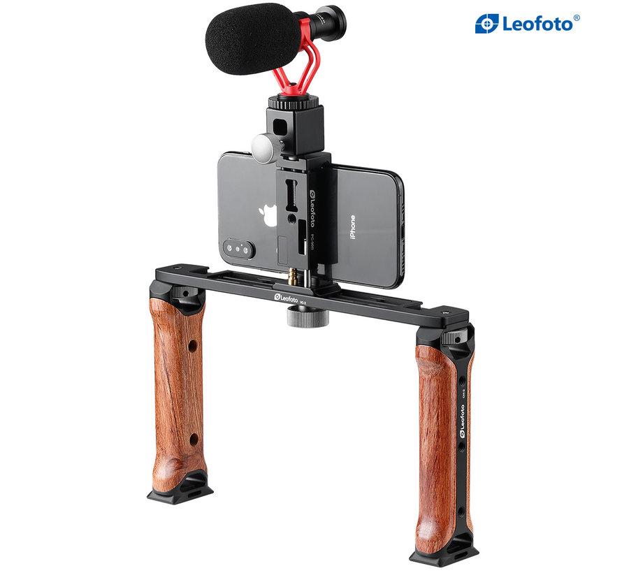 Leofoto VC-2 smartphone rig