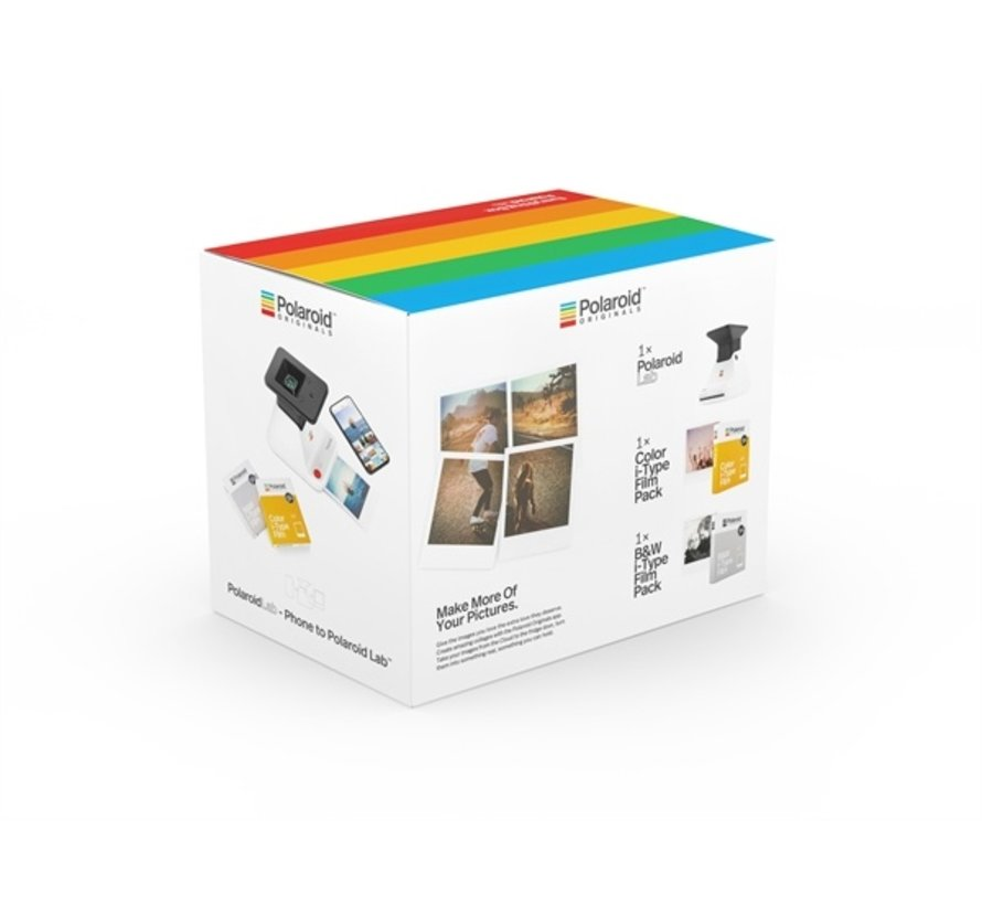 Polaroid Lab - everything box