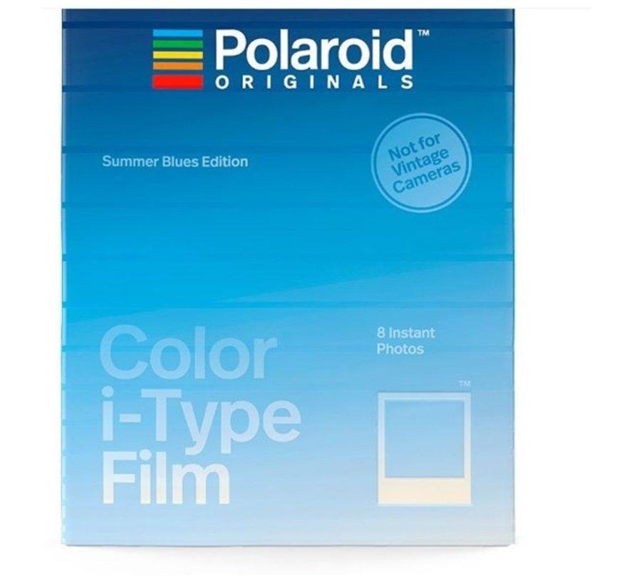 Polaroid instant film I-type - Summer blue