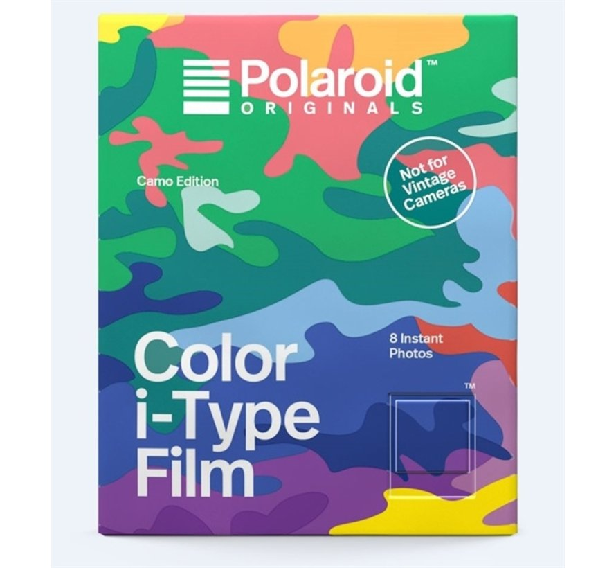 Polaroid instant film I-type - Camo edition